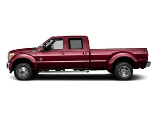Ruby Red Metallic Tinted Clearcoat 2016 Ford Super Duty F-350 DRW Pictures Super Duty F-350 DRW Crew Cab Platinum 4WD photos side view