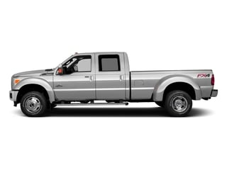 Ingot Silver Metallic 2016 Ford Super Duty F-350 DRW Pictures Super Duty F-350 DRW Crew Cab Platinum 4WD photos side view