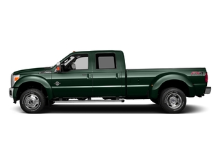 Green Gem Metallic 2016 Ford Super Duty F-350 DRW Pictures Super Duty F-350 DRW Crew Cab Lariat 4WD photos side view