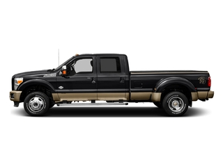 Shadow Black 2016 Ford Super Duty F-450 DRW Pictures Super Duty F-450 DRW Crew Cab King Ranch 4WD T-Diesel photos side view