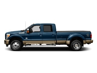 Blue Jeans Metallic 2016 Ford Super Duty F-450 DRW Pictures Super Duty F-450 DRW Crew Cab King Ranch 4WD T-Diesel photos side view
