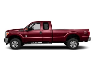 Ruby Red Metallic Tinted Clearcoat 2016 Ford Super Duty F-350 DRW Pictures Super Duty F-350 DRW Supercab XLT 4WD photos side view