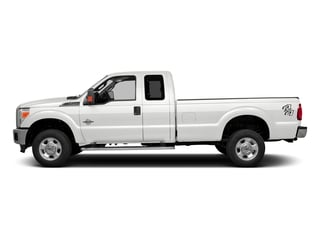 White Platinum Metallic Tri-Coat 2016 Ford Super Duty F-350 DRW Pictures Super Duty F-350 DRW Supercab Lariat 2WD photos side view