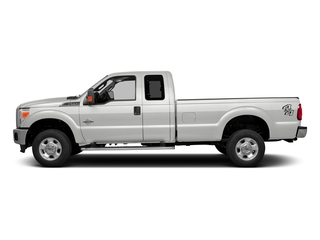 Oxford White 2016 Ford Super Duty F-350 DRW Pictures Super Duty F-350 DRW Supercab XLT 2WD photos side view