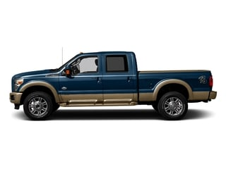 Blue Jeans Metallic 2016 Ford Super Duty F-250 SRW Pictures Super Duty F-250 SRW Crew Cab King Ranch 2WD photos side view