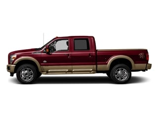Ruby Red Metallic Tinted Clearcoat 2016 Ford Super Duty F-250 SRW Pictures Super Duty F-250 SRW Crew Cab King Ranch 2WD photos side view