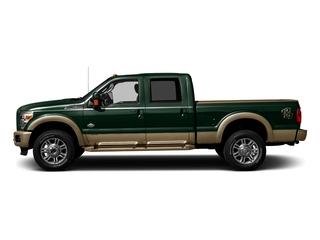 Green Gem Metallic 2016 Ford Super Duty F-250 SRW Pictures Super Duty F-250 SRW Crew Cab King Ranch 2WD photos side view