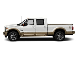 Oxford White 2016 Ford Super Duty F-250 SRW Pictures Super Duty F-250 SRW Crew Cab King Ranch 2WD photos side view
