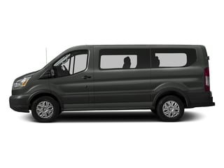 Magnetic Metallic 2016 Ford Transit Wagon Pictures Transit Wagon Passenger Van XLT Low Roof photos side view