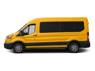 School Bus Yellow 2016 Ford Transit Wagon Pictures Transit Wagon Passenger Van XL Medium Roof photos side view