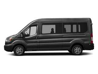 Magnetic Metallic 2016 Ford Transit Wagon Pictures Transit Wagon Passenger Van XL Medium Roof photos side view