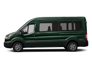 Green Gem Metallic 2016 Ford Transit Wagon Pictures Transit Wagon Passenger Van XL Medium Roof photos side view