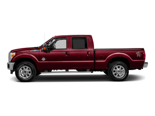 Ruby Red Metallic Tinted Clearcoat 2016 Ford Super Duty F-250 SRW Pictures Super Duty F-250 SRW Crew Cab Lariat 2WD photos side view