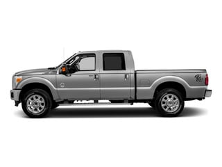 Ingot Silver Metallic 2016 Ford Super Duty F-250 SRW Pictures Super Duty F-250 SRW Crew Cab XL 4WD photos side view