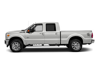Oxford White 2016 Ford Super Duty F-250 SRW Pictures Super Duty F-250 SRW Crew Cab XL 4WD photos side view