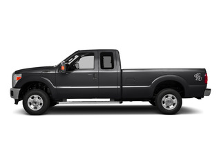 Shadow Black 2016 Ford Super Duty F-250 SRW Pictures Super Duty F-250 SRW Supercab XLT 2WD photos side view