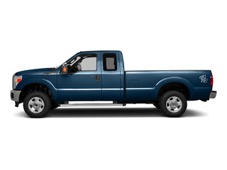 Blue Jeans Metallic 2016 Ford Super Duty F-250 SRW Pictures Super Duty F-250 SRW Supercab XLT 2WD photos side view