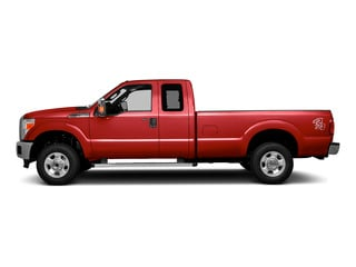 Race Red 2016 Ford Super Duty F-250 SRW Pictures Super Duty F-250 SRW Supercab XLT 2WD photos side view