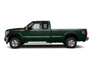 Green Gem Metallic 2016 Ford Super Duty F-250 SRW Pictures Super Duty F-250 SRW Supercab XLT 2WD photos side view
