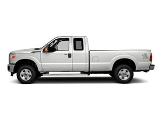 Oxford White 2016 Ford Super Duty F-250 SRW Pictures Super Duty F-250 SRW Supercab XLT 2WD photos side view