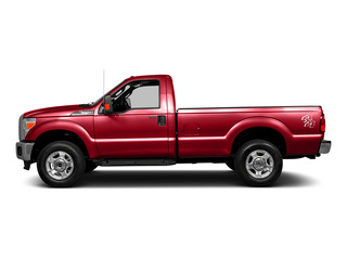 Race Red 2016 Ford Super Duty F-250 SRW Pictures Super Duty F-250 SRW Regular Cab XL 2WD photos side view