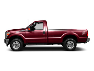 Ruby Red Metallic Tinted Clearcoat 2016 Ford Super Duty F-250 SRW Pictures Super Duty F-250 SRW Regular Cab XLT 4WD photos side view