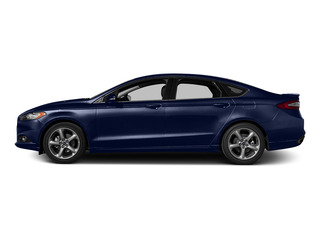 Deep Impact Blue 2016 Ford Fusion Pictures Fusion Sedan 4D SE EcoBoost 2.0L I4 photos side view