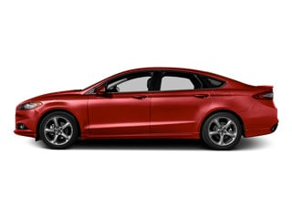 Ruby Red Metallic Tinted Clearcoat 2016 Ford Fusion Pictures Fusion Sedan 4D SE EcoBoost 2.0L I4 photos side view
