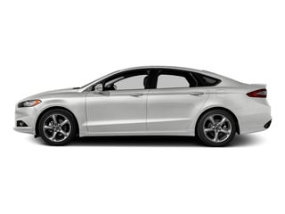 White Platinum Metallic Tri-Coat 2016 Ford Fusion Pictures Fusion Sedan 4D SE EcoBoost 2.0L I4 photos side view