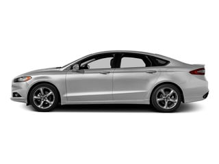 Ingot Silver 2016 Ford Fusion Pictures Fusion Sedan 4D SE EcoBoost 2.0L I4 photos side view