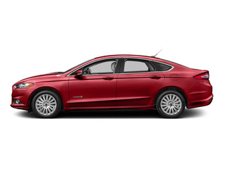 Ruby Red Metallic Tinted Clearcoat 2016 Ford Fusion Pictures Fusion Sedan 4D S I4 Hybrid photos side view