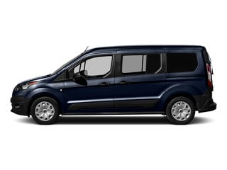 Dark Blue 2016 Ford Transit Connect Wagon Pictures Transit Connect Wagon Extended Passenger Van XLT photos side view