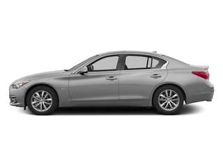 Liquid Platinum 2016 INFINITI Q50 Pictures Q50 Sedan 4D 2.0T Premium I4 Turbo photos side view
