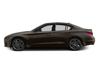 Chestnut Bronze 2016 INFINITI Q50 Pictures Q50 Sedan 4D AWD V6 Hybrid photos side view