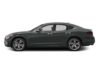 Graphite Shadow 2016 INFINITI Q70 Pictures Q70 Sedan 4D V6 photos side view