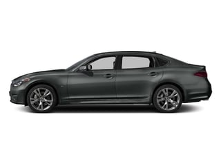Graphite Shadow 2016 INFINITI Q70L Pictures Q70L Sedan 4D LWB V6 photos side view