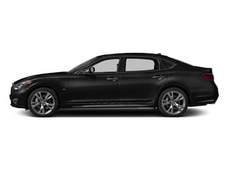 Black Obsidian 2016 INFINITI Q70L Pictures Q70L Sedan 4D LWB V6 photos side view