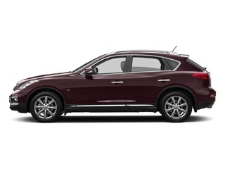 Midnight Garnet 2016 INFINITI QX50 Pictures QX50 Utility 4D 2WD V6 photos side view