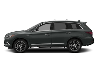 Graphite Shadow 2016 INFINITI QX60 Pictures QX60 Utility 4D Hybrid AWD I4 photos side view