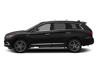 Black Obsidian 2016 INFINITI QX60 Pictures QX60 Utility 4D Hybrid AWD I4 photos side view
