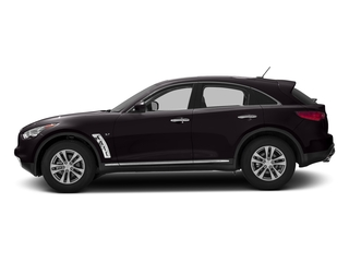 Malbec Black 2016 INFINITI QX70 Pictures QX70 Utility 4D AWD V6 photos side view
