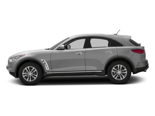 Liquid Platinum 2016 INFINITI QX70 Pictures QX70 Utility 4D 2WD V6 photos side view