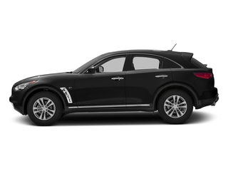 Black Obsidian 2016 INFINITI QX70 Pictures QX70 Utility 4D AWD V6 photos side view