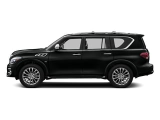 Imperial Black 2016 INFINITI QX80 Pictures QX80 Utility 4D Limited AWD V8 photos side view