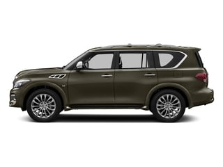 Smoky Quartz 2016 INFINITI QX80 Pictures QX80 Utility 4D Signature AWD V8 photos side view