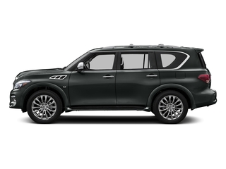 Graphite Shadow 2016 INFINITI QX80 Pictures QX80 Utility 4D Signature AWD V8 photos side view