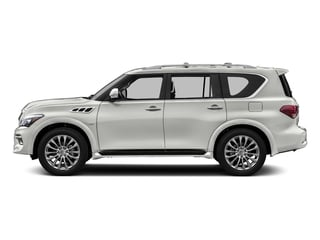 Majestic White 2016 INFINITI QX80 Pictures QX80 Utility 4D Signature AWD V8 photos side view