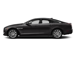 Ultimate Black Metallic 2016 Jaguar XJ Pictures XJ Sedan 4D R-Sport AWD V6 Supercharged photos side view