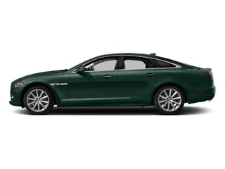 British Racing Green Metallic 2016 Jaguar XJ Pictures XJ Sedan 4D R-Sport AWD V6 Supercharged photos side view