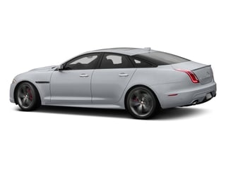 Glacier White Metallic 2016 Jaguar XJ Pictures XJ Sedan 4D XJR V8 Supercharged photos side view